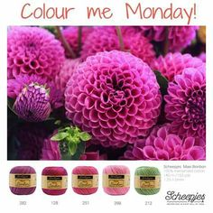 Brought to you by Scheepjes. Each Monday we release a new Inspirational Snapshot to help you plan your knit and crochet projects! Paint Color Combos, Yarn Color Combinations, Colour Schemes, Color Mixing, Color Palettes, Crochet Yarn, Knitting Yarn, Yarn Painting, Yarn Inspiration