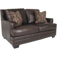 Corvan Leather Loveseat by Ashley Furniture is now available at American Furniture Warehouse. Shop our great selection and save!