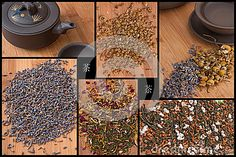 Chinese Tea Collage
