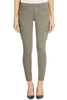 J BRAND skinny cargo GRAYSON MILITARY garrison women's jeans SIZE 27 #JBrand #SkinnyCargo