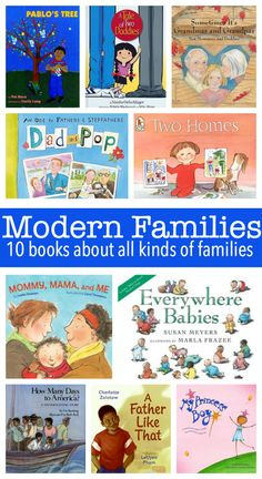 10 kids' books that reflect modern families.