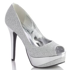 shoes for the black and silver dress :) PROM 2015 BABY.