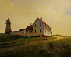 """Monhegan Light""  by Harley Bartlett"