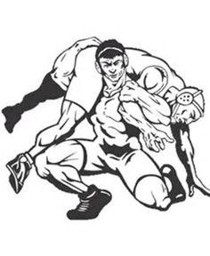 wrestling wrestling pinterest rh pinterest com Wrestling Images Graphics Drawings wrestling clipart free