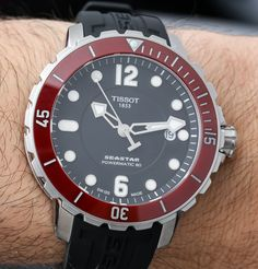 Tissot Seastar 1000 Powermatic 80 Watch Hands On: Upgrades Increase The Want   hands on