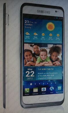 Samsung Galaxy S III - ecco una nuova immagine, l'annuncio il 22 maggio ?