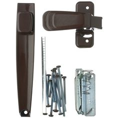WRIGHT PRODUCTS 1.75-in Screen Door and Storm Door Push-button Latch