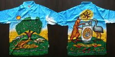 Unload for Reload: Mambo Loud Shirts Blue Hawaii, Ex Machina, Bowling Shirts, Aloha Shirt, Opening Ceremony, Shirt Style, Hawaiian, Stencils, Beer