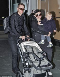 Happy family: Ginnifer Goodwin, 37, had every reason to look content as she stepped out for the first time since announcing she is expecting baby number two with husband Josh Dallas, 33
