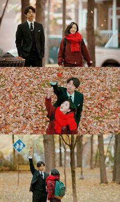 Goblin drama ❤ Maple leaf and true love Boys Over Flowers, Live Action, Goblin Korean Drama, Goblin Gong Yoo, Manhwa, Yoo Gong, Drama Fever, I Love Cinema, Weightlifting Fairy
