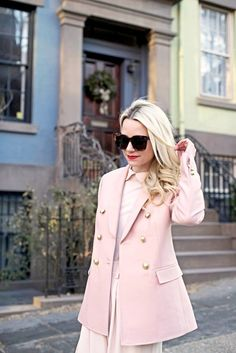 Would You Wear an All-Pink Look? via @WhoWhatWear