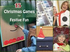 15 Christmas Party Games | KidsParties123 #christmas #party #games