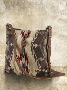 Navajo Jacquard Messenger Bag - Shoulder  Handbags - RalphLauren.com - StyleSays