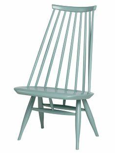 Sage green Mademoiselle chair by Artek. Via Uusi muste