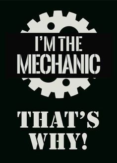 I'm a mechanic. Doing everything the guys do but working even harder to get further in my career!!