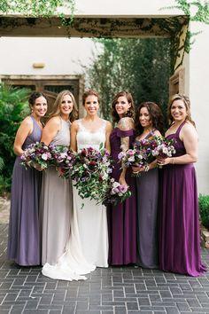 Shades Of Purple Bridesmaid Dresses Jewel Tone Dessy
