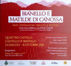 """Galleria Medievale: """"Bianello e Matilde di Canossa"""", mostra al Castello di Bianello"""