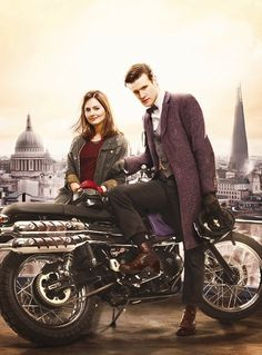 DW - The Bells Of Saint John - 11 th Doctor and Clara