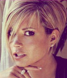 Victoria Beckham Hair #haircut #Womensfashion #hairstyle
