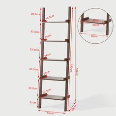 Ladder Shelf Measurements Almost Exactly Like The Ones I