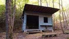 Keystone's 2013 Benton MacKaye Trail Photos : Sisson Shelter