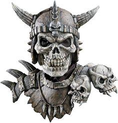 costume mask: kronos mask and shoulders