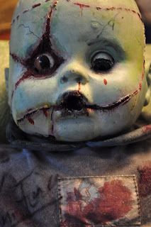 Creepy Dolls - need to hit the thrift stores to find dolls!