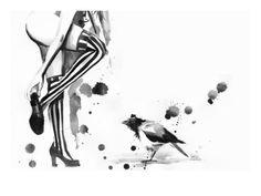 Lora Zombie - White Stripes