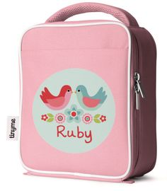 Personalized Lunch Bag (Pink) ~ tinyme