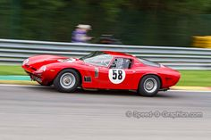 Bizzarrini 5300 GT - Nigel Greensall - Masters Gentlemen Drivers Pre-66 GT  Spa Six Hours 2015 — with Romolo Perfetti, Nigel Greensall and Speed-O-Graphica Motorsports Photography at Circuit de Spa-Francorchamps
