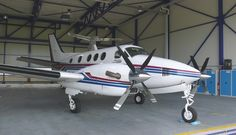 1992 Beechcraft King Air C90B XP for sale in Germany => http://www.airplanemart.com/aircraft-for-sale/Multi-Engine-TurboProp/1992-Beechcraft-King-Air-C90B-XP/11816/
