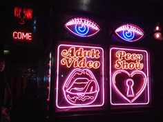 Hilarious entrance to La Bodega Negra: best Mexican cuisine in London, very hard to get a table here though...