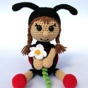 Ladybird Katy - via @Craftsy