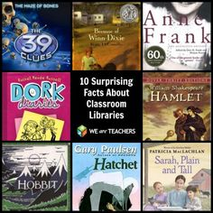 10 Surprising Facts About Classroom Libraries