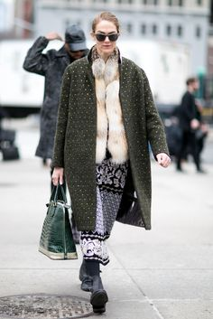 A mixture of texture and prints can look cohesive too!