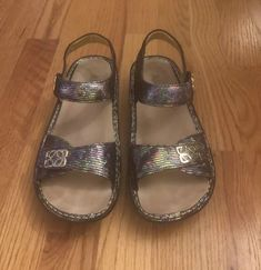 3147fe3df Ladies Alegria Sandals Size 36 US 6 Or 6.5 Excellent  fashion  clothing   shoes