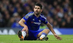 DIEGO COSTA breaks nose in training ground collision and will become THIRD Chelsea player to wear protective mask this season...