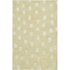 Handmade Soho Deco Beige New Zealand Wool Rug (6' x 9')
