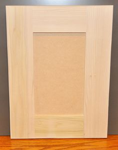 Shaker Style Door Unfinished Paint Grade By GilbertCabinets