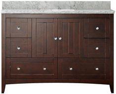 AMERICAN IMAGINATIONS Shaker Rectangle Floor MountSingle Hole Center Faucet Vanity Set. #ad http://shopstyle.it/l/qMf2