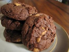Chewy Chocolate Peanut Butter Cookies for 2 WW points