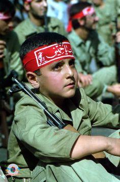 Child Soldiers of the iran iraq war.