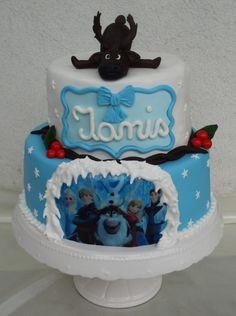 Frozen - Cake by Pasiuneameadulce