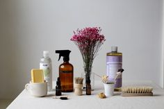 10 All Natural Homemade Cleaning Solutions & Sprays
