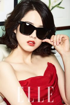 Go Ara's Vivienne Westwood Eyewear Pictorial For Elle Korea's April 2014 Issue Korean Girl, Asian Girl, Korean Idols, Korean Dramas, Go Ara, Korean Actresses, Asian Actors, Korean Actors, Elle Magazine