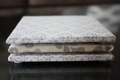 DIY Fabric Coasters - use scraps from making curtains?