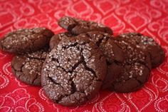 The Perfect Chewy Chocolate Cookies: crunchy on the outside and chewy on the inside