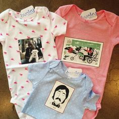 Baby pop culture bodysuits from Firebaby — Bunky Boutique