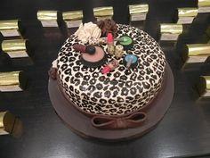 Torta animal print mami's 60