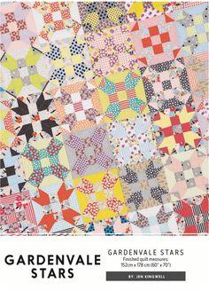 Gardenvale Stars by Jen Kingwell Designs